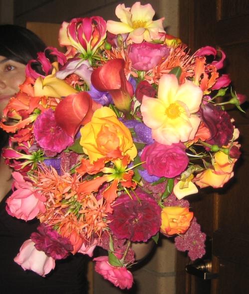 Beth's bouquet web