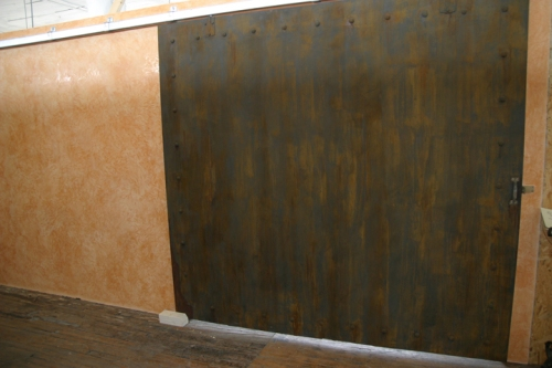 After a little lime plaster and rust