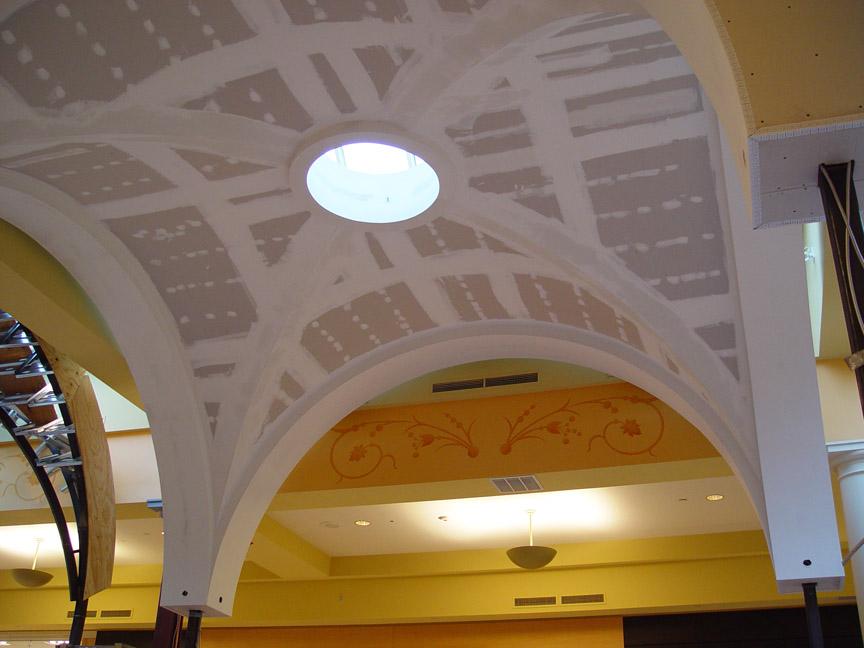 groin vault ceiling